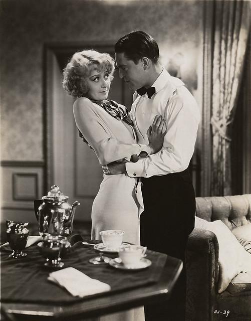 Joan Blondell and Chester Morris, '33