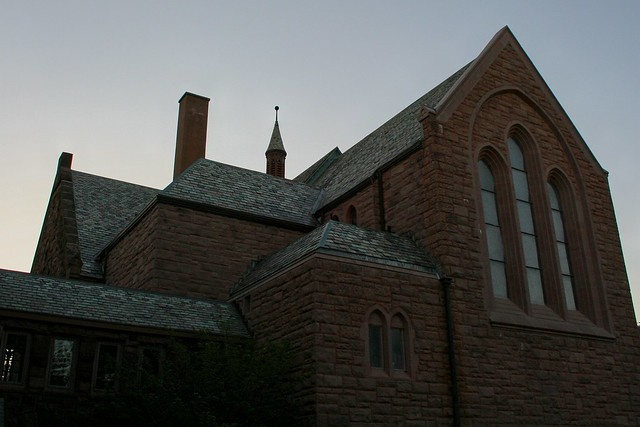 St Luke's Episcopal Church At Dusk