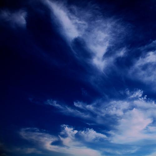 無料写真素材, 自然風景, 空, 雲, 青空, 青色・ブルー
