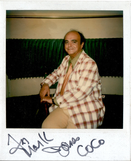 Autographed Polaroid of James Coco