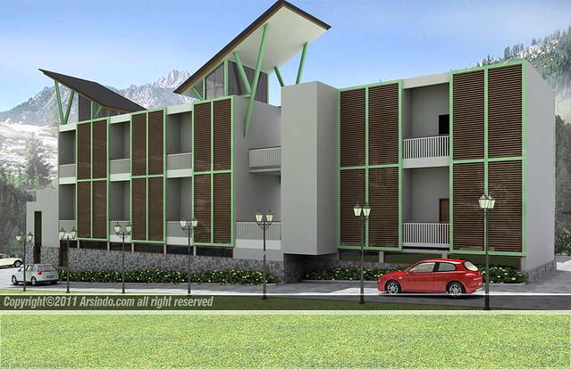 contoh desain bangunan minimalis 12 desain gedung dan