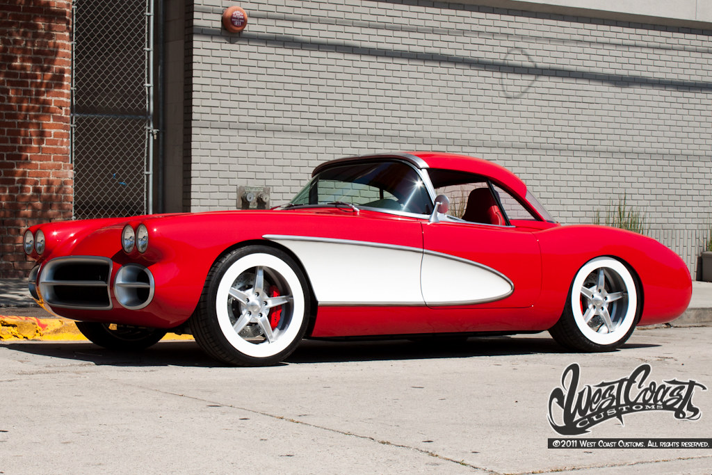 The Amazo Effect West Coast Customs 1959 Corvette