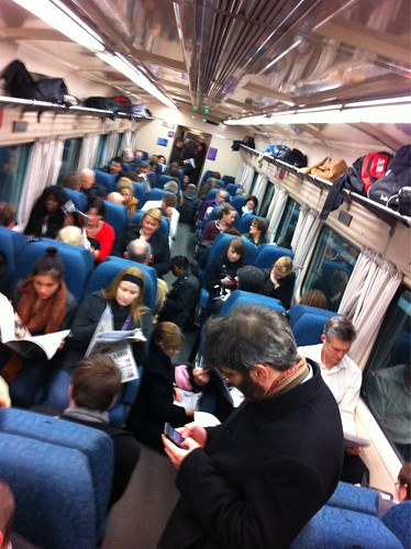 POTD: Overcrowding on V/Line