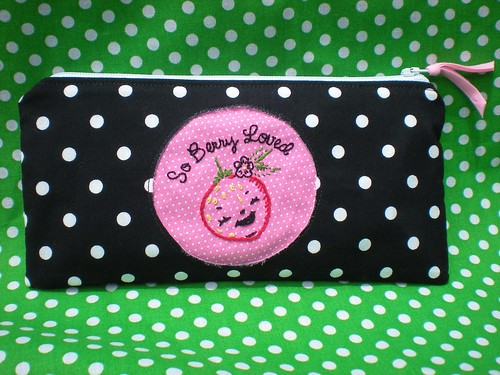 Berry Cheerful Pencil Pouch