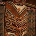 Maori house carving