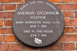 Merrion Square - Andrew O'Connor Died Here