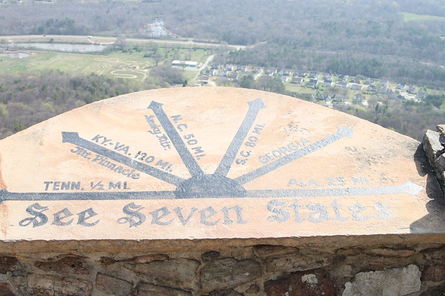 see seven states at rock city
