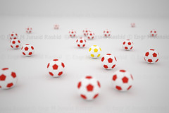 A Play Field of Footballs - Odd one out by Engineer J