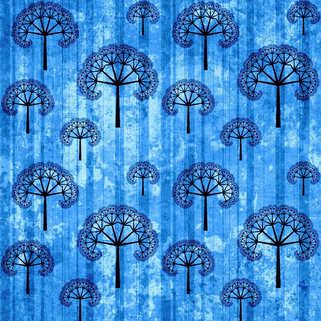 Webtreats Icy Blues Abstract Photoshop Patterns 3