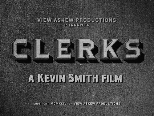 "Movie Titles - ""Clerks"""