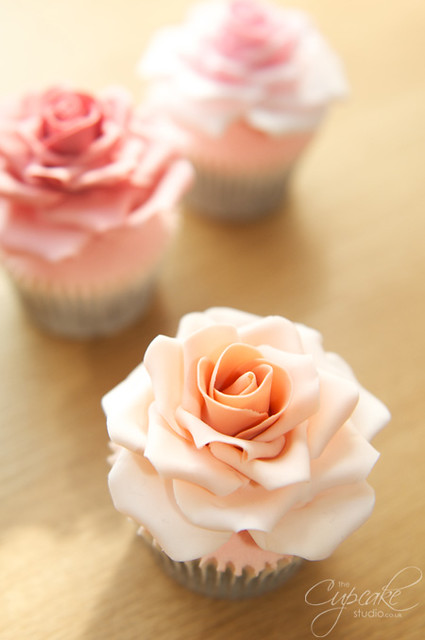 Full Size Rose Cupcakes Flickr Photo Sharing