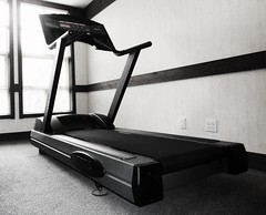 exercise machine, exercise equipment, room, treadmill,