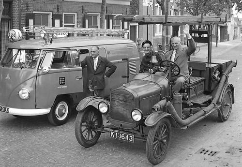 RV-55-33 Volkswagen Transporter bestelwagen 1959