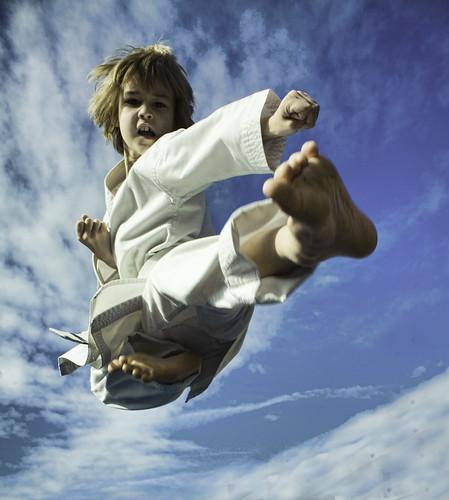 Karate kid take 2