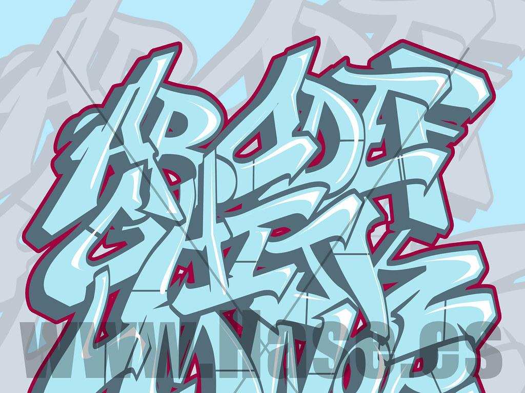 Graffitis letras bomba imagui - Bombe de graffiti ...