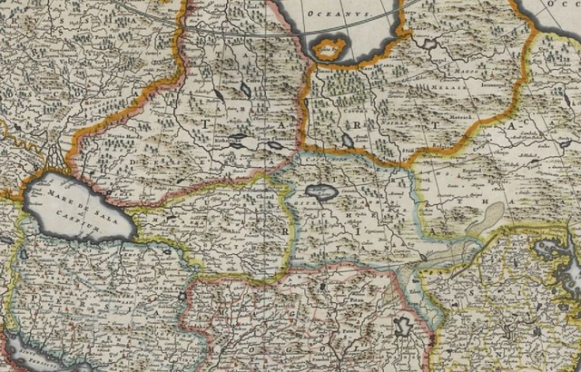 Map of Asia by D. de Wit -