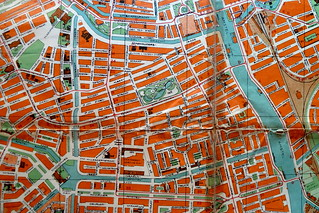 Map of Amsterdam of 1937 – De Pijp neighbourhood