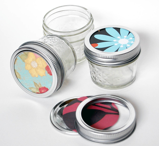 Beautiful Decorate Mason Jar Lids 500 x 460 · 119 kB · jpeg