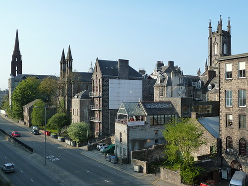 Centre of Aberdeen, Scotland