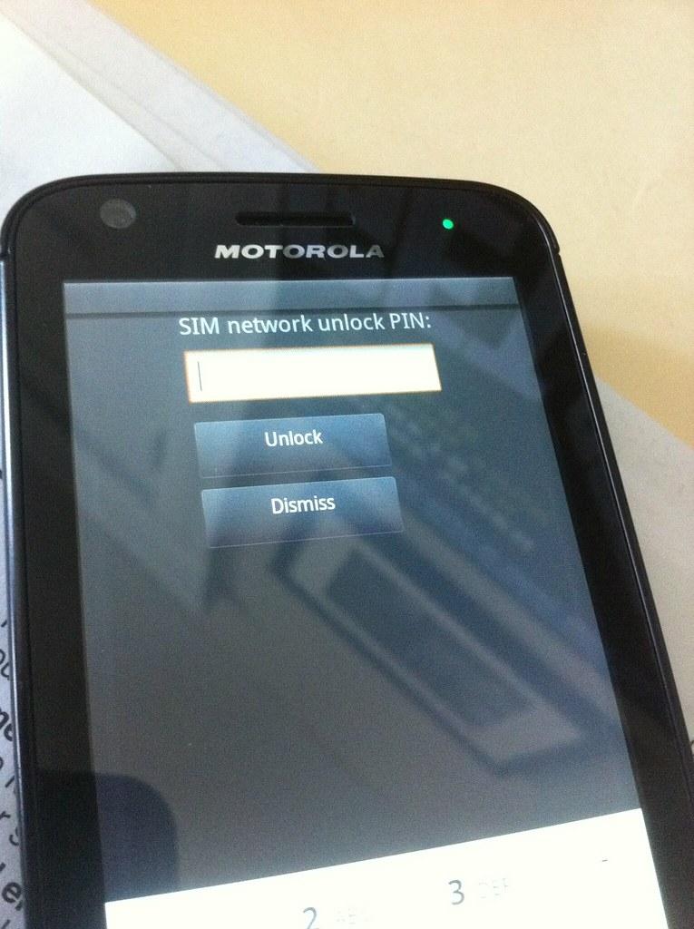 SIM network unlock PIN required | Steve Garfield | Flickr