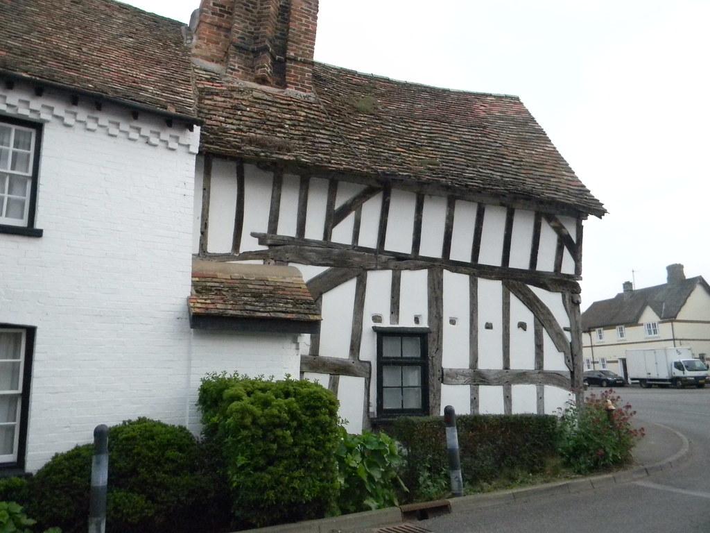 Old building Houghton Huntingdon Circular