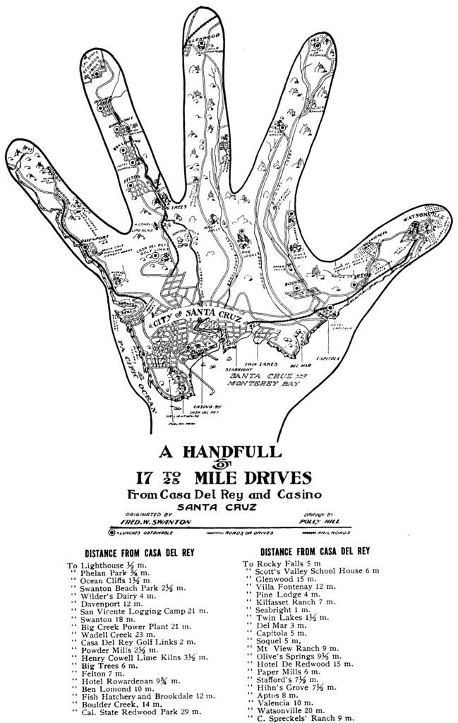 A Hand Map Of U0026#39;Swantacruzu0026#39; And Environs | Big Think