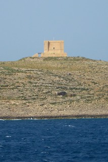 Image of St. Mary's Tower. malta gozo