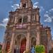 Parroquia de San Juan Bautista, Huanimaro, Mexico por Thad Roan - Bridgepix