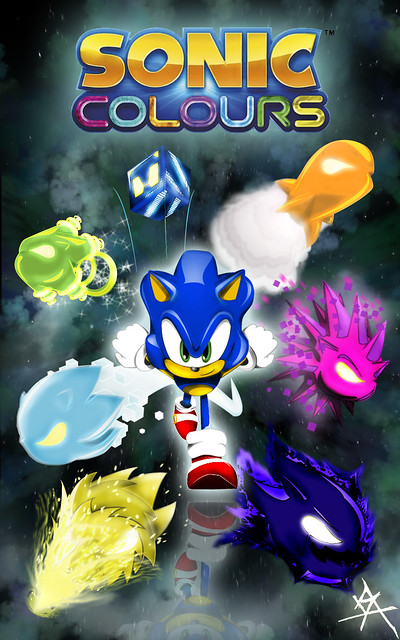 SONIC COLORS_ WISP FORMS | Flickr - Photo Sharing!