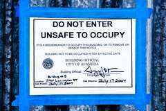 Unsafe to Occupy