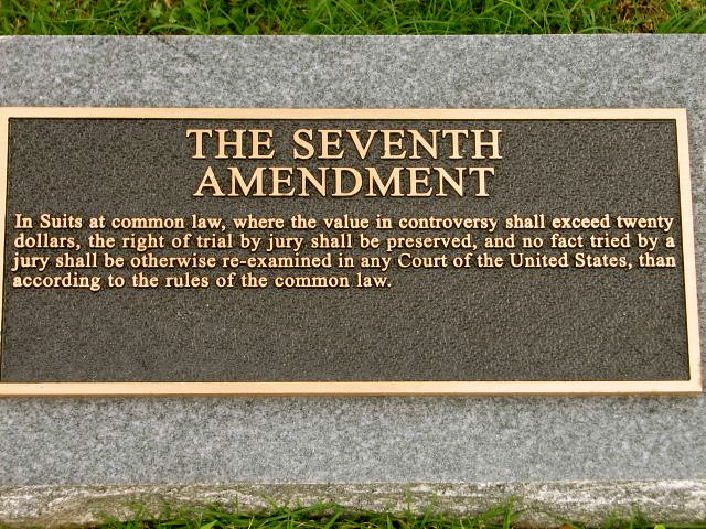 The 7th Amendment to the United States Constitution ...