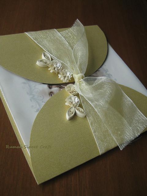 Undangan Pernikahan (Gold Envelope)