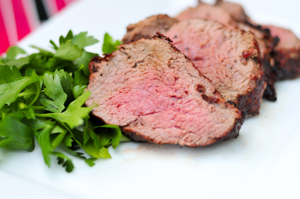 Grill-Roasted Whole Beef Tenderloin