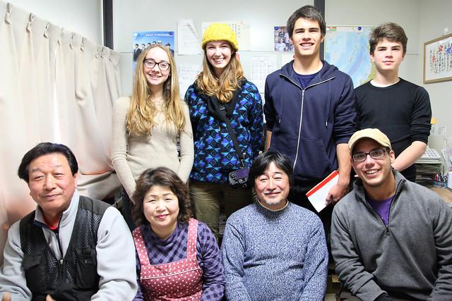 Team #TGSTohoku with Konno-san and wife (Rikuzentakata, Japan)