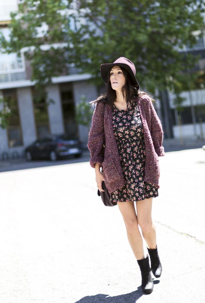 street style barbara crespo liberty spring dress a bicyclette fashion blogger outfit blog de moda