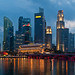 Singapore Skyline - Esplanade Panorama by hao$