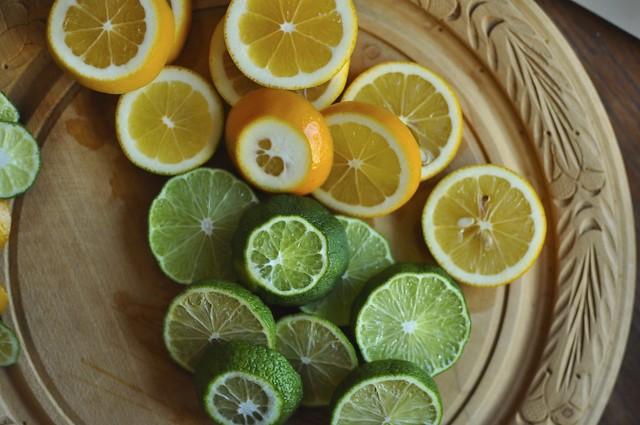dehydrating lemons