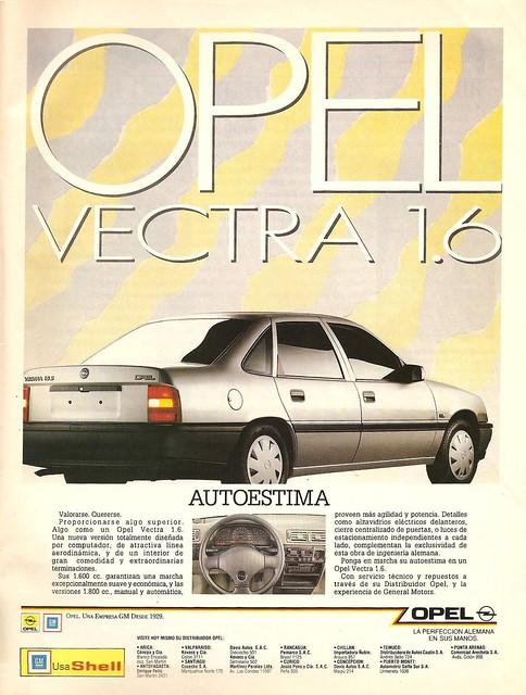 Opel Vectra 1991 Chile - VM 1990 Octbure 002