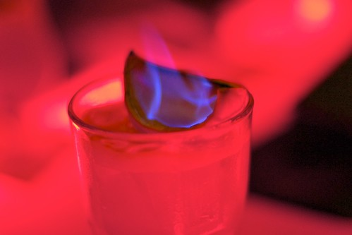 Burning Cocktail