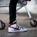 Nike Vandal High, белый/красный by outpac