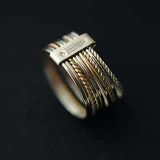 Gold and silver stacks