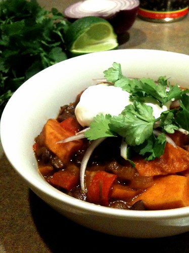 Edible Organic Green Tea Vegan Meatless Chili