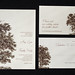 Oak Tree Wedding - Main, Reply Card, Info Card