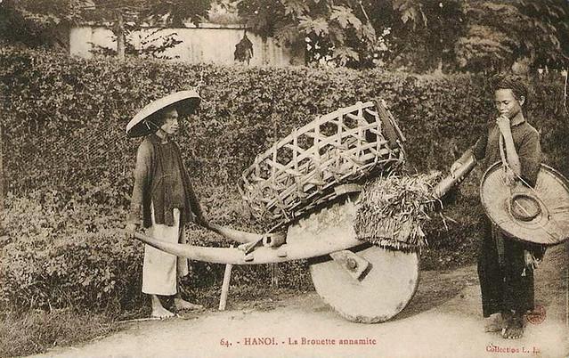 Hanoï - La brouette annamite