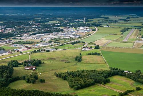 sweden swe västragötaland vårgårda flygfoto degrabo