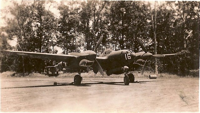 KIA/MIA P-38 Lightning of 39th FS 35th FG Captain Robert Faurot New Guinea