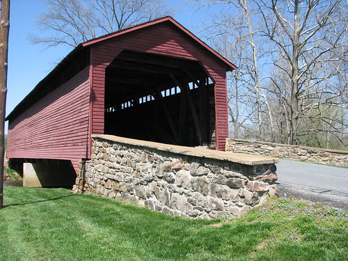 Utica Covered Bridge Close Up