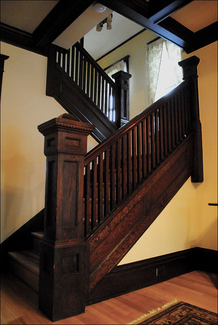 1911 Craftsman Staircase Flickr Photo Sharing