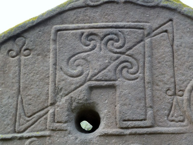 Detail from Pictish Carved Stone at Aberlemno, Scotland