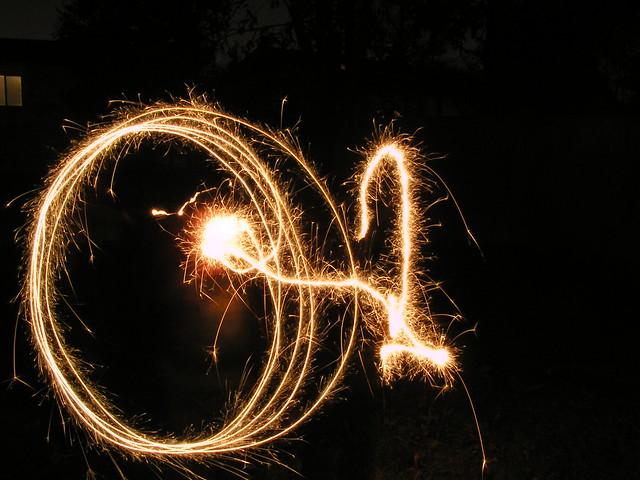 Summertime sparklers
